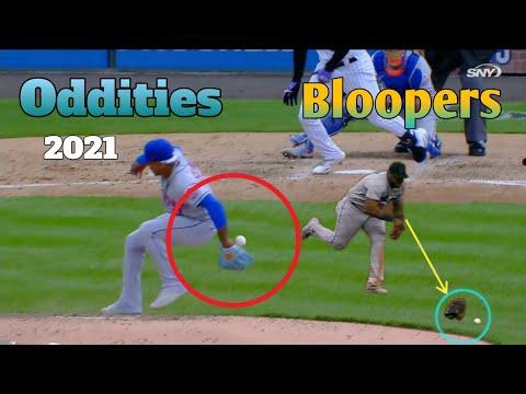 MLB | Oddities Compilation 2021 🤣