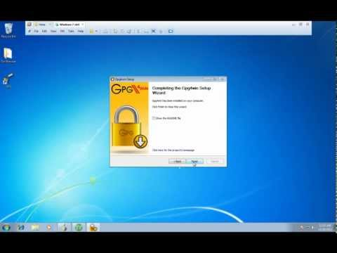 How to use GPG Encryption