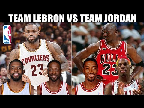 ALL-TIME LEBRON JAMES TEAM vs ALL-TIME MICHAEL JORDAN TEAM! WHO IS BETTER? NBA PLAYOFF SIMULATOR