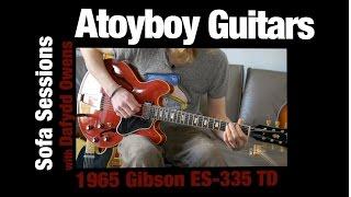 1965 Gibson ES-335 TD Cherry - Atoyboy Guitars
