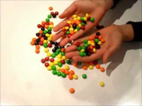 Skittles commercial stop motion