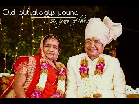 "50th Wedding anniversary ""Highlights"" of Lalitha Bai & G.Sukanraj Parmar"