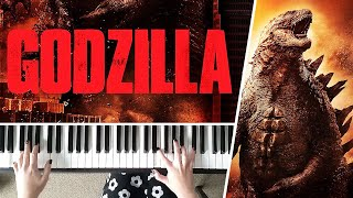 The Godzilla Theme (2014) by Alexandre Desplat - Piano Cover
