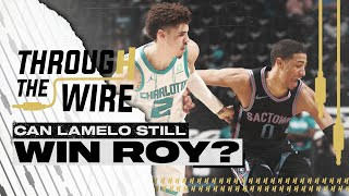 Can LaMelo Ball Still Win ROY? | Through The Wire Podcast