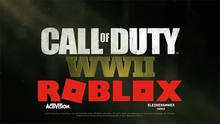 Call of Duty: WWII Reveal Trailer (roblox edition)