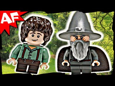 GANDALF Arrives - Lego Lord of the Rings Set 9469 Animated Building Review