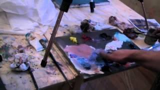 Курсы рисования для взрослых в Москве, обучение живописи маслом, Игорь Сахаров