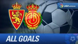 Todos los goles de Real Zaragoza (2-0) RCD Mallorca - HD