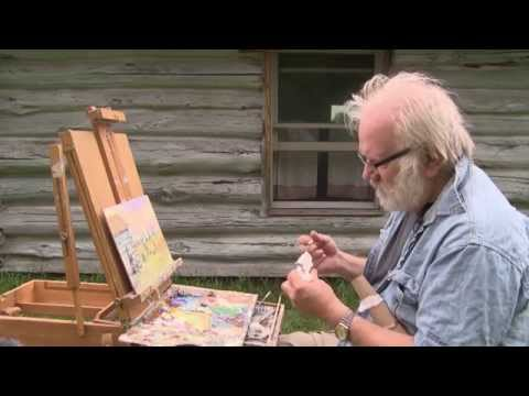 Common Ground 602 - Feather Headwear & Jaques Art Center Plein Air Quick Paint