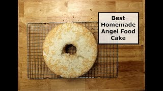 Best Homemade Angel Food Cake