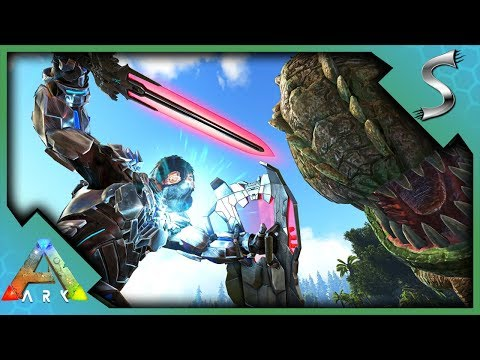 ARK TEK SWORD, TEK SHIELD & TEK LIGHT! HOW TO UNLOCK + SHOWCASE! - Ark: Survival Evolved