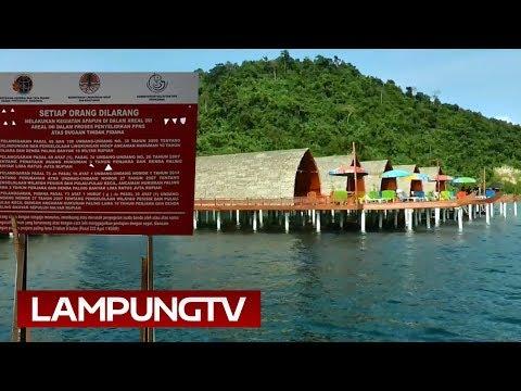 KPK Segel Wisata Pulau Tegal Mas Lampung
