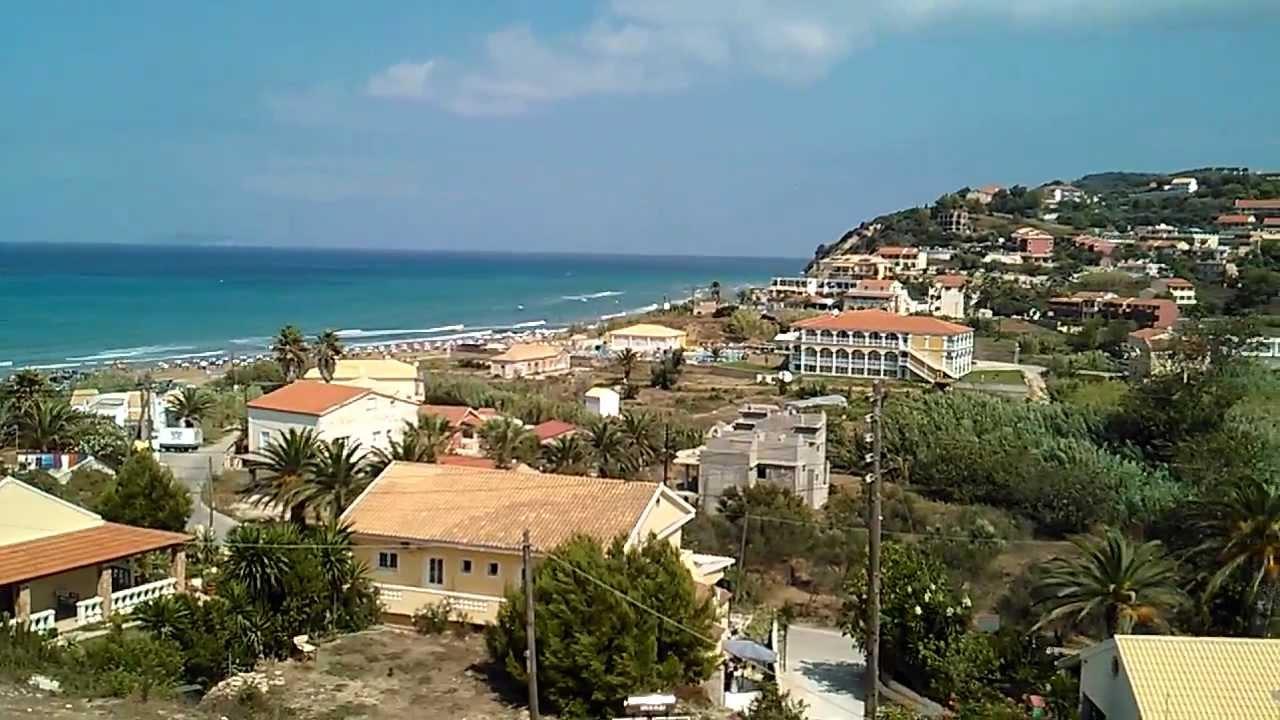 Corfu, San Stefanos, Moros Apartman 2013 - YouTube