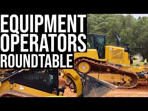 Construction Equipment Operators Sound Off On Green Operators, Machine Tech, Cat Operator Challenge