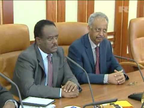 Oct 12, 2012 Russia_Russian envoy to Africa meets delegation from Eritrea