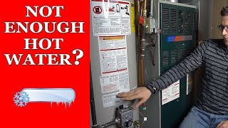 Not Enough Hot Water? How To Do a Water Draw Test