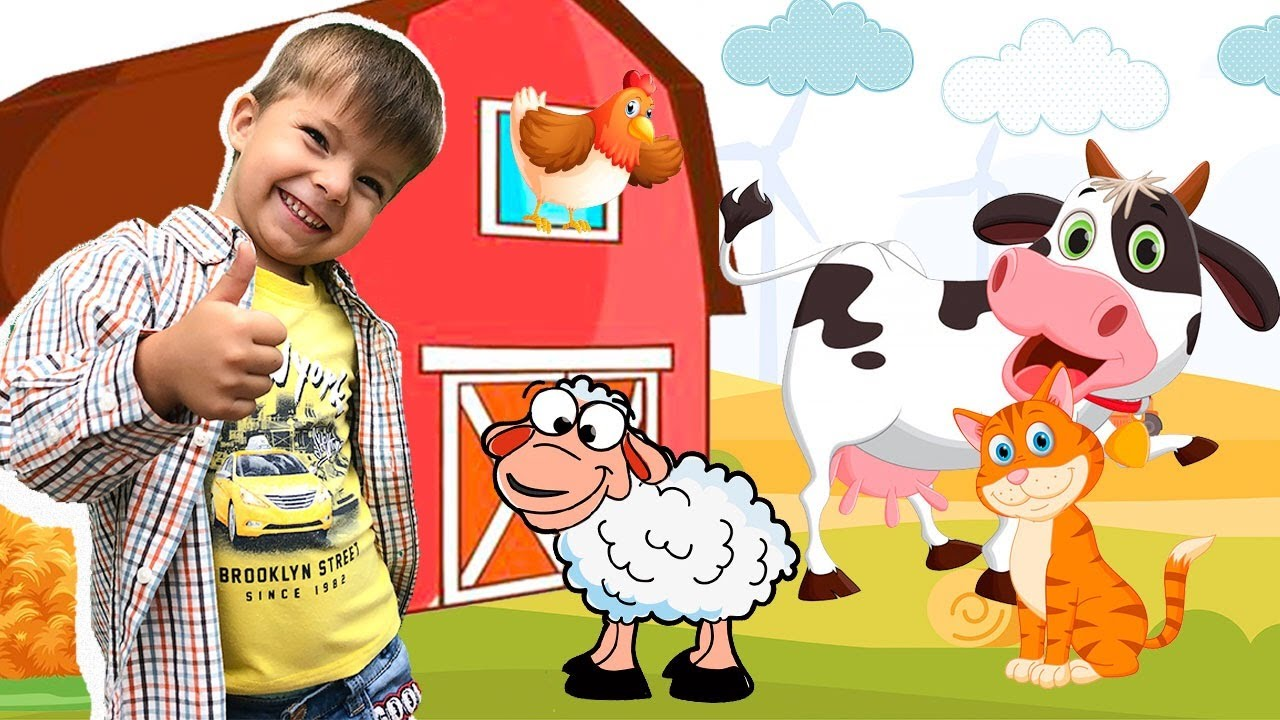 Old MacDonald Had a Farm I  Nursery Rhymes and Kids Songs - Nikki kids songs