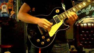 Sidewinder solo (on electric) - Avenged sevenfold