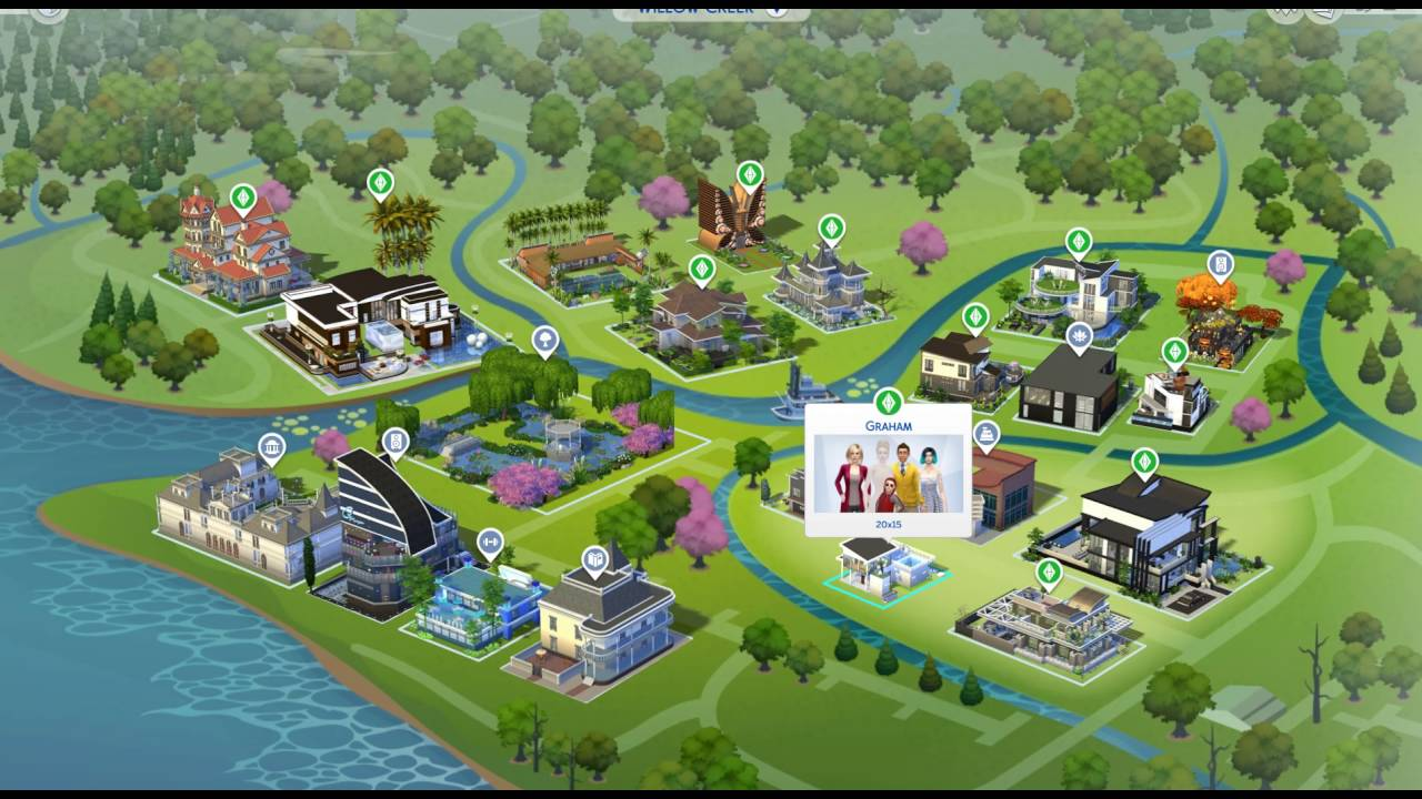 Map The Sims 4 Youtube