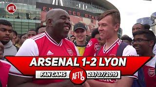 Arsenal 1- 2 Lyon | Aubameyang, Lacazette & Pepe Is A Dream Attack!