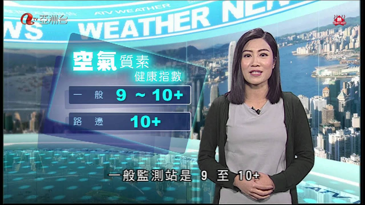 鄭穎直 2015年8月7日 天氣報告 1850 - YouTube