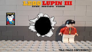 Lego Stop Motion LUPIN - La Corona Maledetta