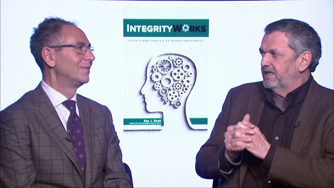 "VIDEO: Roy Snell-""Integrity Works, Tools and Skills to Build Integrity."" (Part III)"