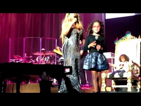 Mariah Carey- always be my baby (ft dembabies) live All The Hits Tour Vancouver