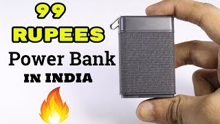 Rs.99 Cheapest PowerBank in INDIA | Smallest Powerbank | with Bluetooth