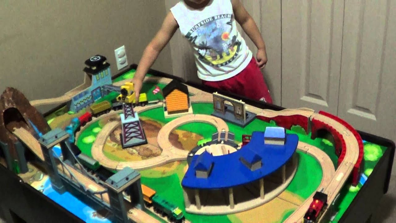 Nathan and imaginarium train - YouTube
