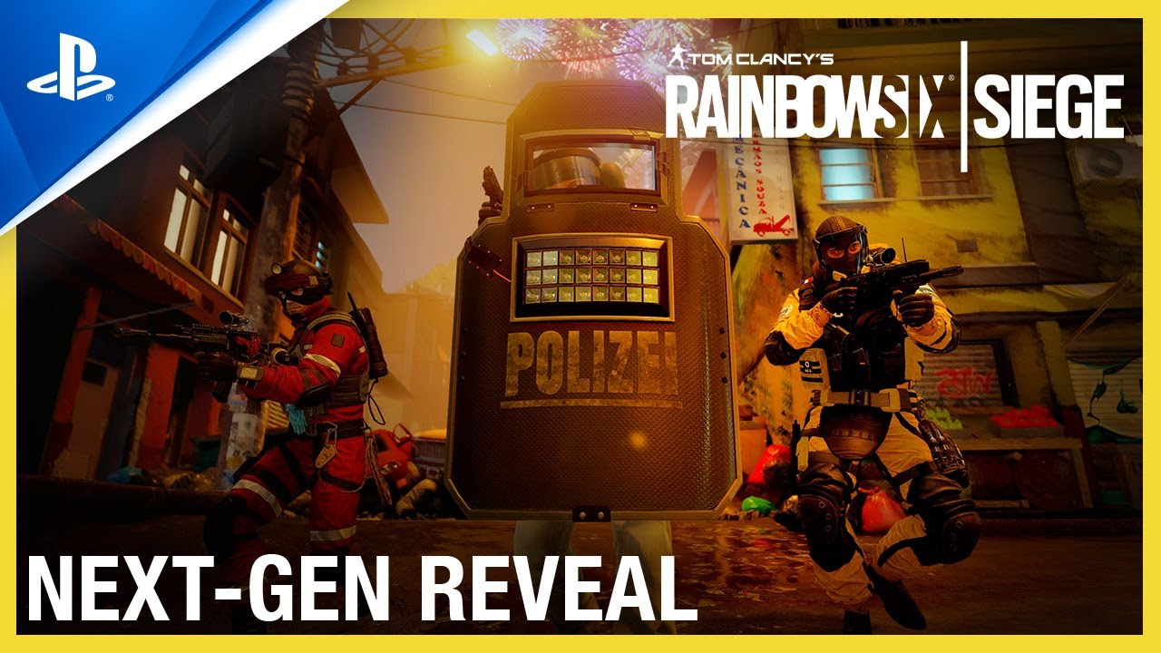 Tom Clancy's Rainbow Six Siege - Next-Gen Reveal Trailer