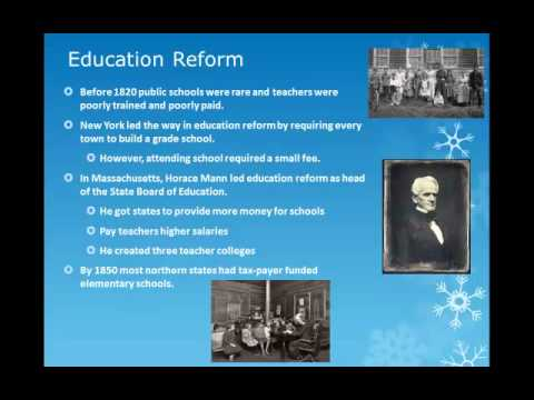 Prison & Mental Health, Education and Temperance Reform - YouTube