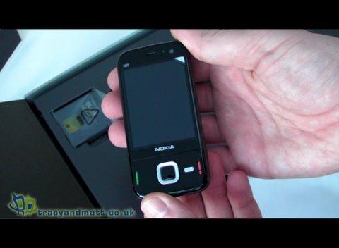 Nokia N85 unboxed