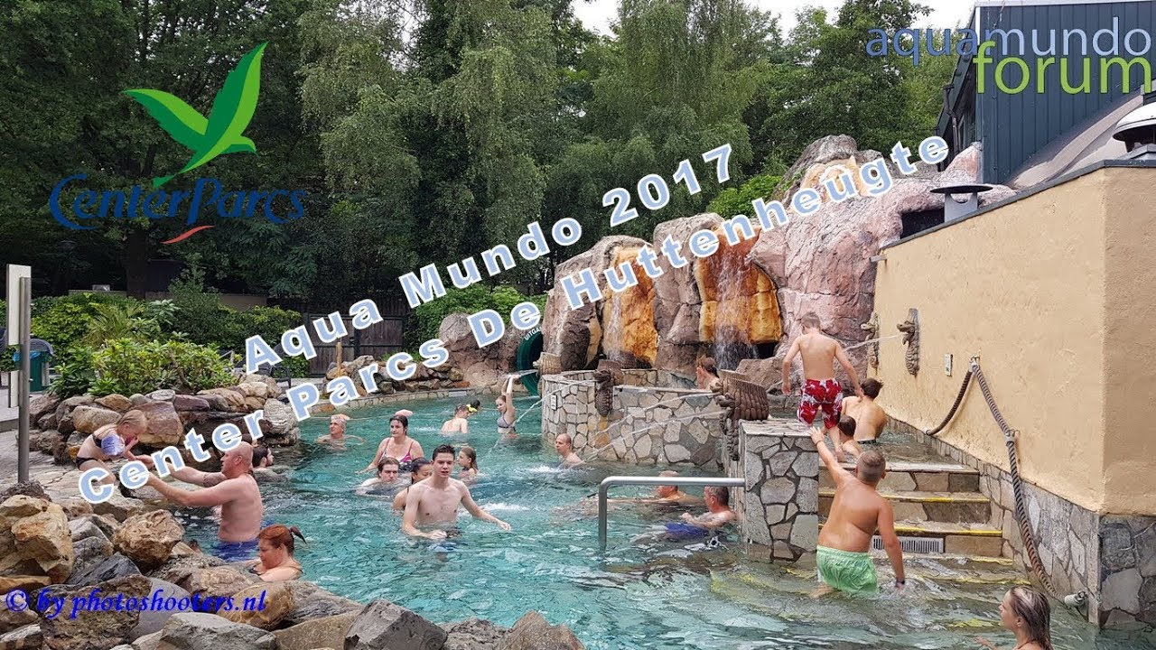 Aqua mundo center parcs de huttenheugte youtube
