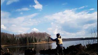 Открытие рыболовного сезона Рыба есть Рыбалка на озере