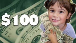 We Gave Kids One Hour To Spend $100