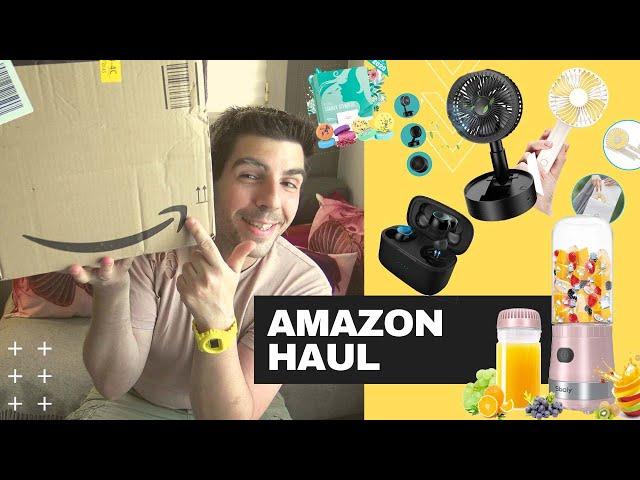 SUMMER AMAZON : J'ouvre un colis AMAZON avec des gadgets utiles PAS CHER pour l'été !