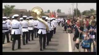 미 국군의 날 기념 (Armed Forces Day 2013) - 대한민국 해병대 군악대 & 의장대