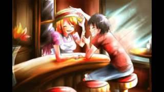 Natsu x Lucy vs Luffy x Nami vs Len x Rin