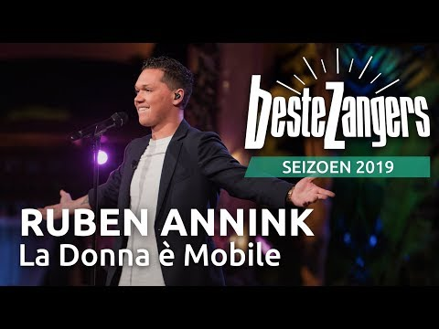 Ruben Annink - La Donna è Mobile   Beste Zangers 2019