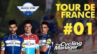 PRO CYCLING MANAGER 2018 | TOUR DE FRANCE 2018 | ETAPE 1 : Noirmoutier-en-l
