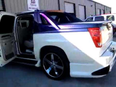 Tejano Customs 02 Custom Cadillac Escalade Ext Youtube