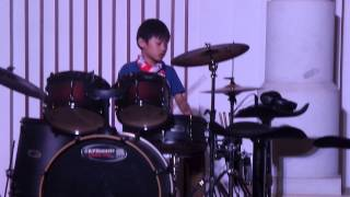 Kamulah surgaku (okan drum cover ) the rock
