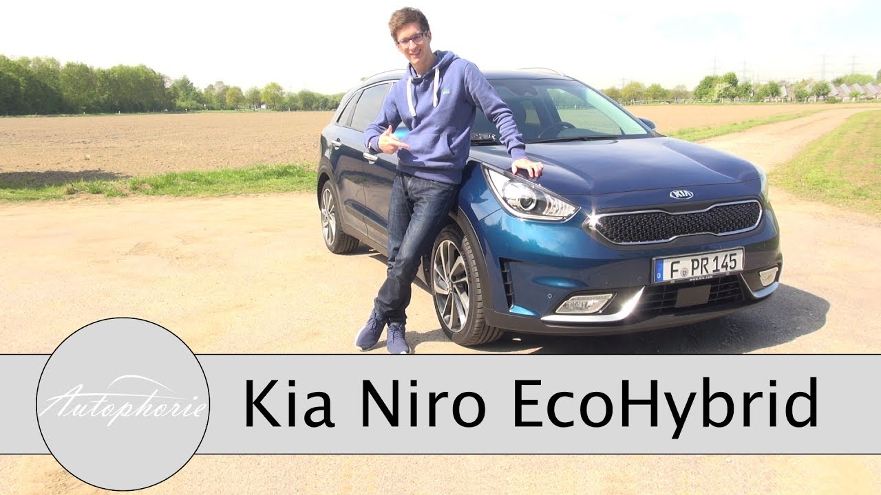 2017 kia niro ecohybrid fahrbericht kompakt suv der. Black Bedroom Furniture Sets. Home Design Ideas