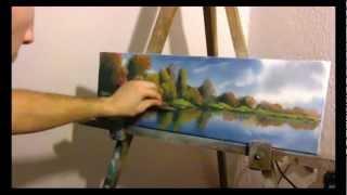 04. SPRING LANDSCAPE 2 - Proljetni pejzaž 2 (time lapse oil paiting)