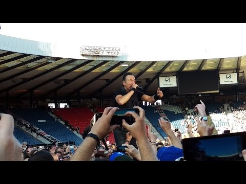 Bruce Springsteen - This Hard Land (Acoustic) @ Hampden, Glasgow 2016