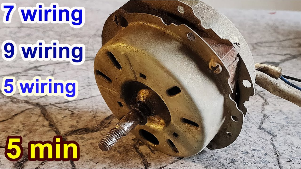 How To Connect Fan Coil Easy 5 Wire Ac Fan Motor Wiring Diagram 3 Speed Youtube