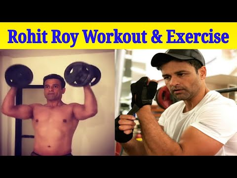 Rohit Roy Workout & Exercise Video