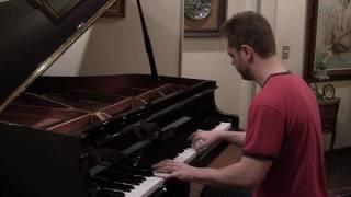 Música do Jaspion no piano - Música de Abertura do Jaspion