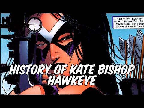 History of Kate Bishop - Hawkeye